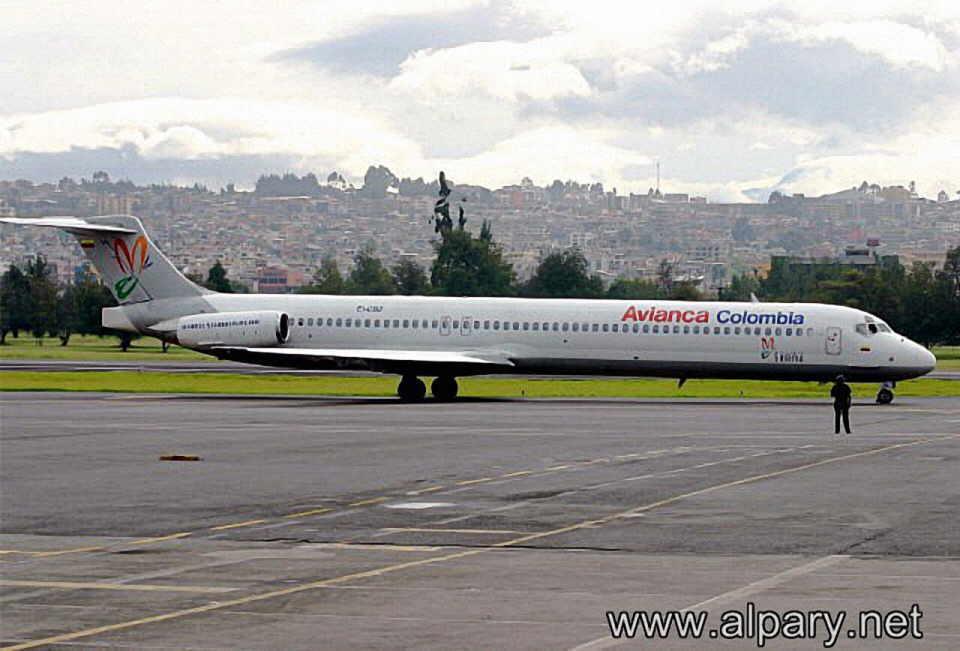 Самолёт авиакомпании avianca colombia в